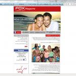 כתיבת ניוזלטר לרשת FOX